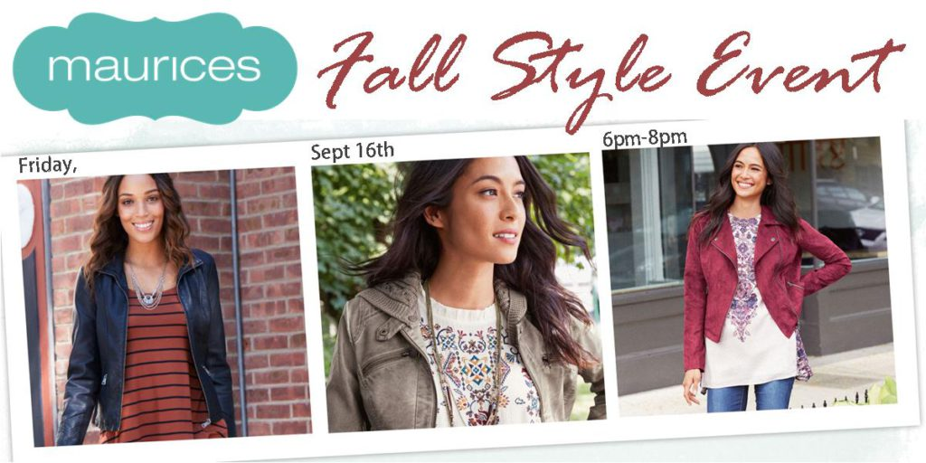 Maurices Fall style event