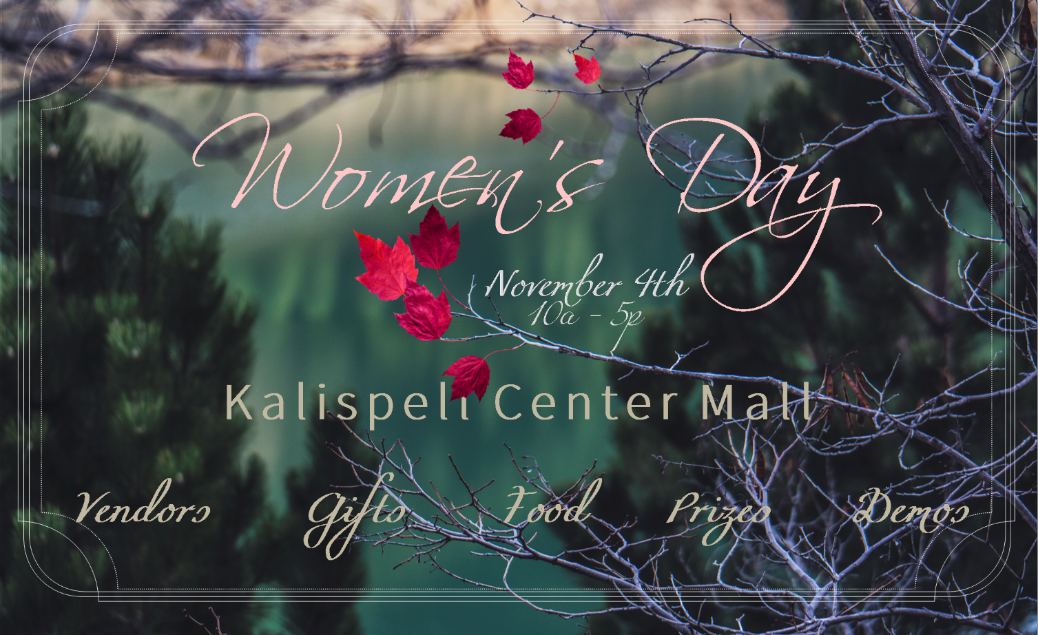 Women's Day Vendor Registration
